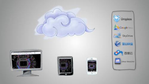 Solutie CAD pentru dispozitivele mobile - ZWCAD Touch ZWCAD