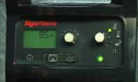 Aparat de taiere cu plasma - Reglaj pentru gaz