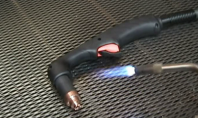 Aparat de taiere cu plasma - Test de rezistenta la caldura a pistoletului - G4