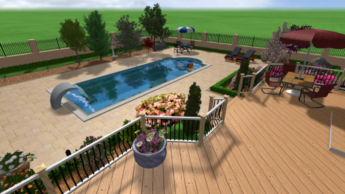 Piscina rezidentiala Roma - Stefani Pool Technology Stefani Pool Technology