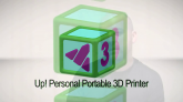 Prezentare printer 3D UP Plus