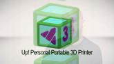 Prezentare printer 3D UP Plus