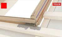 Ferestre de mansarda - Montaj pe linie rosie sau albastra - operare sus